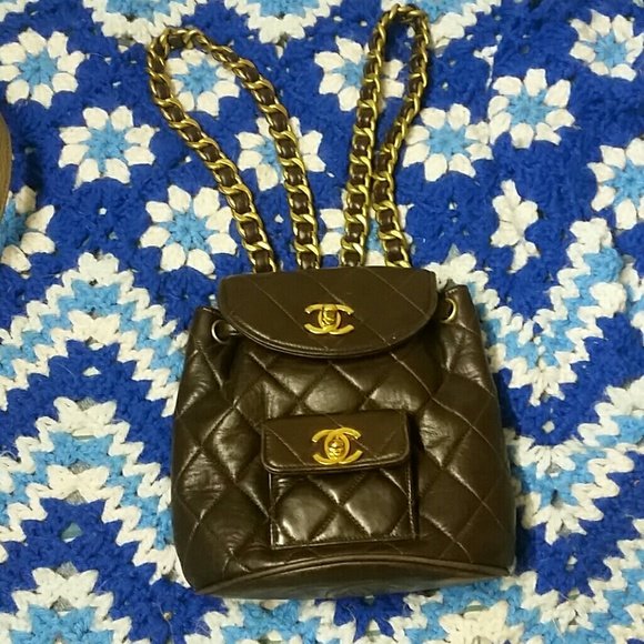 3d691789c6a2 CHANEL Bags | Small Backpack | Poshmark